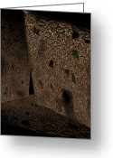 Cavern Greeting Cards - Cavern Walls Greeting Card by Christopher Gaston