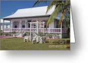 Caribbean Homes Greeting Cards - Cayman Islands Traditional House Greeting Card by James Brooker