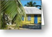 Caribbean Homes Greeting Cards - Cayman Islands Traditional Island Home Greeting Card by James Brooker