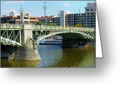 Most Photo Greeting Cards - Cechuv Bridge Greeting Card by Mariola Bitner