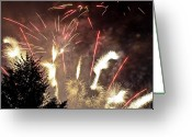 Ridgewood Greeting Cards - Celebration Greeting Card by Jim DeLillo