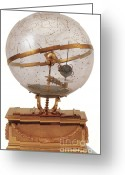 Armillary Greeting Cards - Celestial Sphere Greeting Card by Photo Researchers