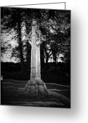 Sacred Greeting Cards - Celtic Cross in Killarney Ireland Greeting Card by Teresa Mucha