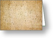 Old Pathway Greeting Cards - Cement Wall Greeting Card by Carlos Caetano