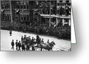 George Harrison Photo Greeting Cards - Centennial Parade, 1889 Greeting Card by Granger