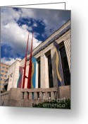 Nashville Greeting Cards - Center for Visual Art Nashville Greeting Card by Susanne Van Hulst