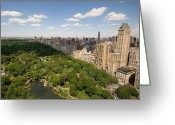 New York City Greeting Cards - Central Park In New York City Greeting Card by Joel Sartore