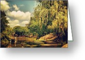 Picoftheday Greeting Cards - Central Park North. #centralpark #nyc Greeting Card by Luke Kingma