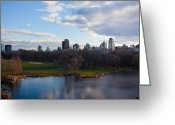 Steven Gray Greeting Cards - Central Park Greeting Card by Steven Gray