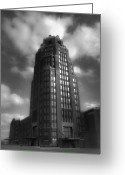 Wagner Greeting Cards - Central Terminal Greeting Card by Chuck Alaimo