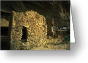 Ancient People Greeting Cards - Chaco Canyon Treasure Greeting Card by Bob Christopher