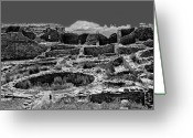 Anasazi Greeting Cards - Chaco Fifteen Greeting Card by Paul Basile