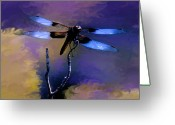 Transformative Art Greeting Cards - Change Greeting Card by Lisa Redfern