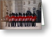 British Royalty Greeting Cards - Changing of The Guards Greeting Card by Instalove Photography
