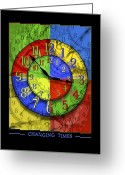 Clocks Greeting Cards - Changing Times Greeting Card by Mike McGlothlen