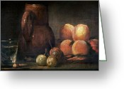 Chardin Greeting Cards - Chardin: Still Life Greeting Card by Granger