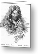 Perrault Greeting Cards - Charles Perrault (1628-1703) Greeting Card by Granger