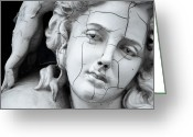 Greek Sculpture Greeting Cards - Charming sculpture Greeting Card by Eakasit Ritrangsan