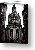 Royalty Greeting Cards - Chateau Chambord Greeting Card by Susie Weaver