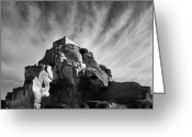 Forbidding Greeting Cards - Chateau des Baux Greeting Card by Chateau des Baux