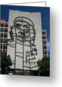 Fidel Castro Greeting Cards - Che Greeting Card by Joe Burns