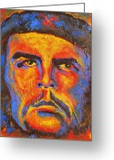 Fidel Castro Greeting Cards - Che Greeting Card by Pete Lopez