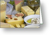 Diversity Greeting Cards - Cheese plate Greeting Card by Joana Kruse