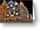Mgm Greeting Cards - Chelis Chili Bar Detroit Greeting Card by Nicholas  Grunas