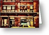 Picoftheday Greeting Cards - Chelsea Market Greeting Card by Luke Kingma
