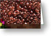 Robert Matson Greeting Cards - Cherries and Chocolates Greeting Card Greeting Card by Robert Matson