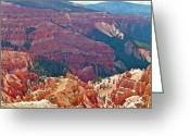 Chessman Greeting Cards - Chessman Ridge Overlook in Cedar Breaks NMON Greeting Card by Ruth Hager