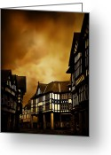 Dim Greeting Cards - Chesterfield Greeting Card by Svetlana Sewell