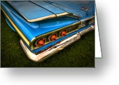 Antique Cars Greeting Cards - Chev One Greeting Card by Jerry Golab