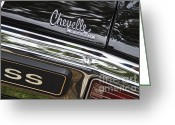 Chevrolet Chevelle Greeting Cards - Chevelle SS Greeting Card by Dennis Hedberg