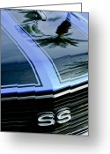 Chevrolet Chevelle Greeting Cards - Chevrolet Chevelle SS Grille Emblem 3 Greeting Card by Jill Reger