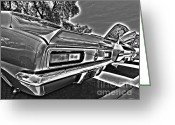 Muscle Cars Greeting Cards - Chevrolet s Greeting Card by Cheryl Young