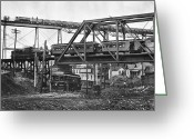 Cole Photo Greeting Cards - Chicago: Railroads, 1906 Greeting Card by Granger