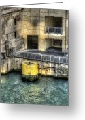 Tom Biegalski Greeting Cards - Chicago River Alcove Greeting Card by Tom Biegalski