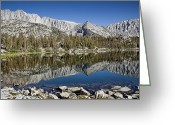 Mammoth. Greeting Cards - Chickenfoot Lake Greeting Card by Kelley King