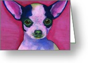 Debbie Brown Greeting Cards - Chico Greeting Card by Debbie Brown
