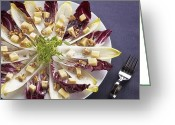 Nut Greeting Cards - Chicory Salad Greeting Card by Joana Kruse