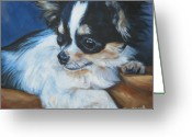 Chihuahua Greeting Cards - Chihuahua Greeting Card by Lee Ann Shepard