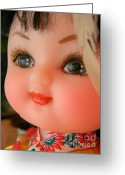 Doll Greeting Cards - China Doll Greeting Card by Anita  Victoria