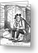 Racism Greeting Cards - Chinese Exclusion Act, 1882 Greeting Card by Granger