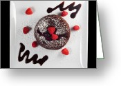 Tom Biegalski Greeting Cards - Chocolate cake Greeting Card by Tom Biegalski