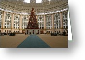 West Baden Greeting Cards - Christmas at West Baden Greeting Card by Sandy Keeton