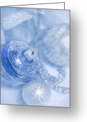 Blau Greeting Cards - Christmas time Greeting Card by Angela Doelling AD DESIGN Photo and PhotoArt