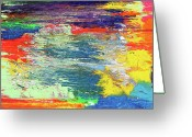 Chromatic Painting Greeting Cards - Chromatic Greeting Card by Ralph White