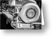Chrome Grill Greeting Cards - Chrome Classic Greeting Card by Perry Webster