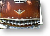 Rusted Cars Greeting Cards - Chrome Is Forever 2 Greeting Card by Mike Witte